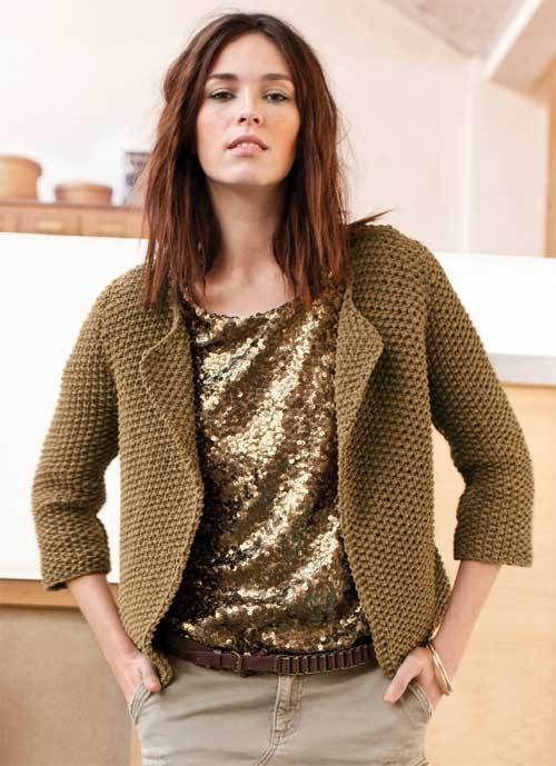Souvent Les 25 meilleures idées de la catégorie Modele tricot gratuit  QE02