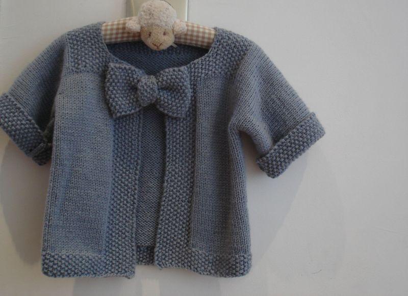 modele tricot gratuit pour fille 2 ans