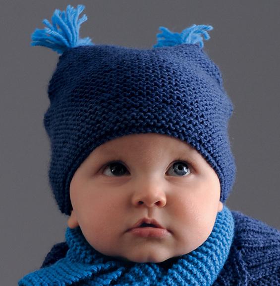 af766f45f62 Bonnet en tricot bebe - Chapka