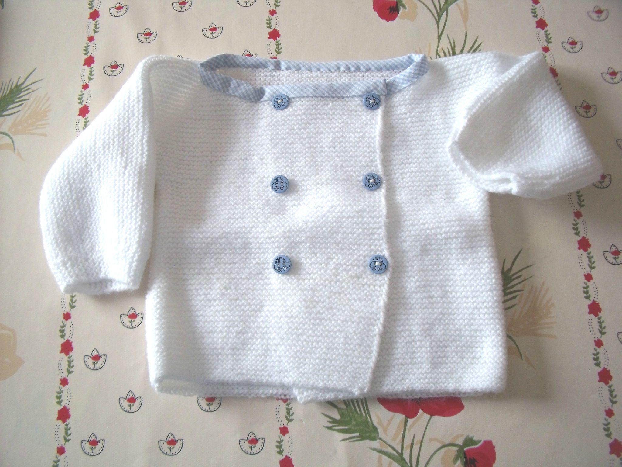 patron de tricot bebe gratuit