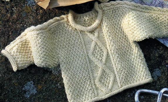modele de pull a tricoter gratuit pour fille