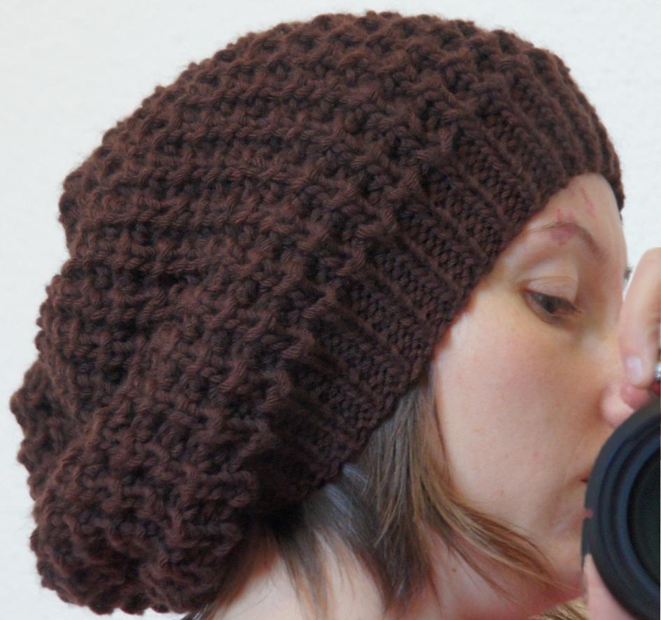 modele gratuit bonnet tricot