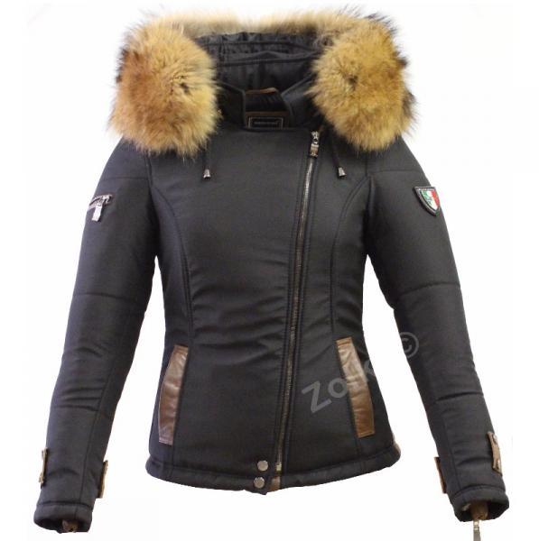bcf4b5f0d6e D hiver Italie Chapka amp  Pull Femme Vetement Doudoune Doudoune FA8aaq