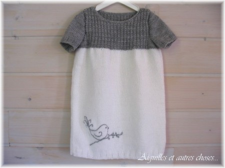 0c56c946a15ae Robe tricot bebe 2 ans - Chapka