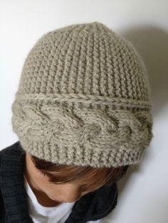 tricoter un bonnet homme aiguille 7