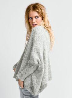 modele de gilet au tricot gratuit