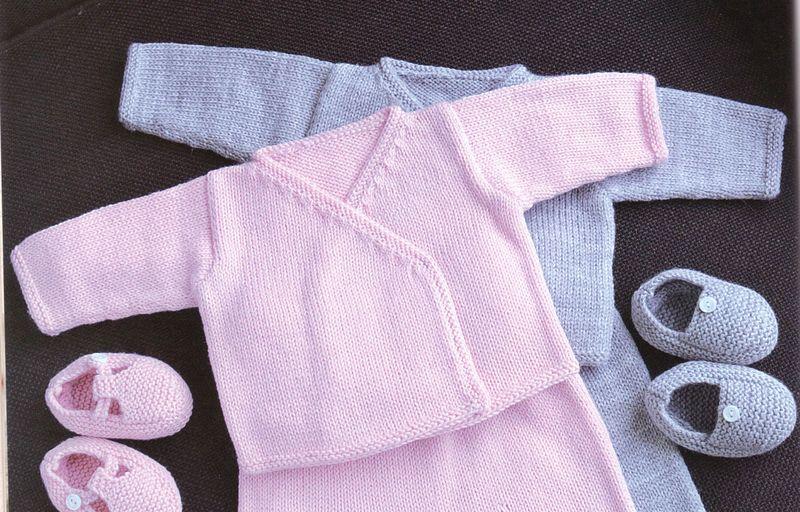 6f1b4ac52421a Je veux trouver un joli tricot pour mon bébé ou à offrir pas cher ICI Layette  à tricoter modèles gratuits
