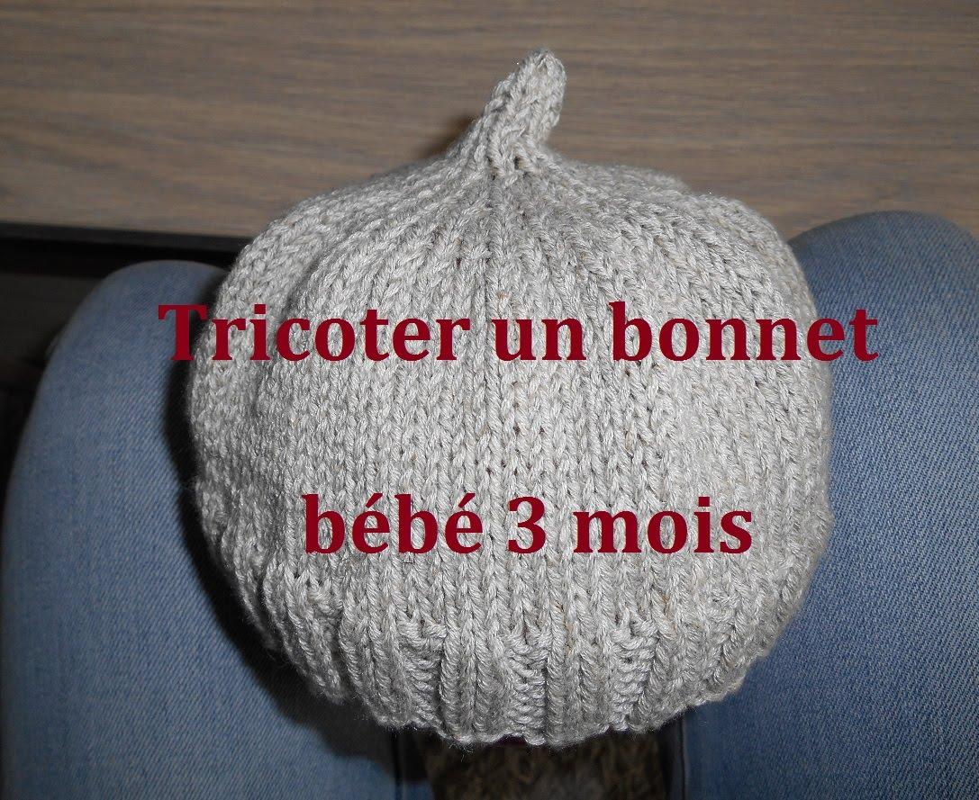 Je veux trouver un joli tricot pour mon bébé ou à offrir pas cher ICI  Tricot bonnet bébé 6 mois facile fbdc70753c0