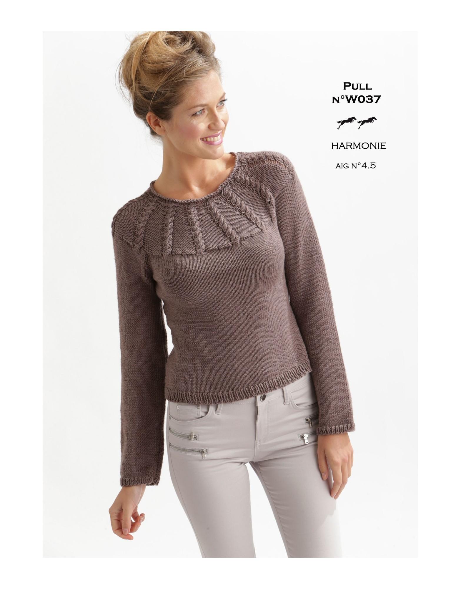 9fe7973eadf32 Modele de veste en laine a tricoter pour femme - Chapka, doudoune ...