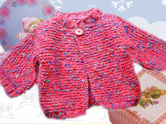 kit tricot debutant layette