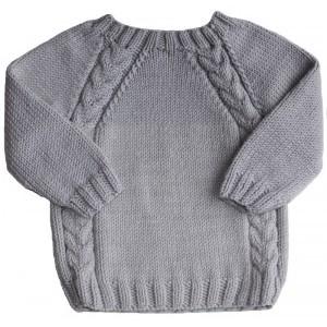 modele gratuit pull enfant