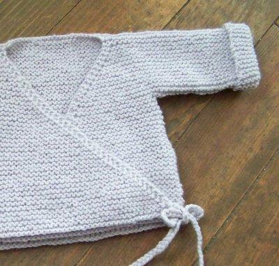 7bccd77f4b08c Brassière en laine bébé naissance a tricoter - Chapka