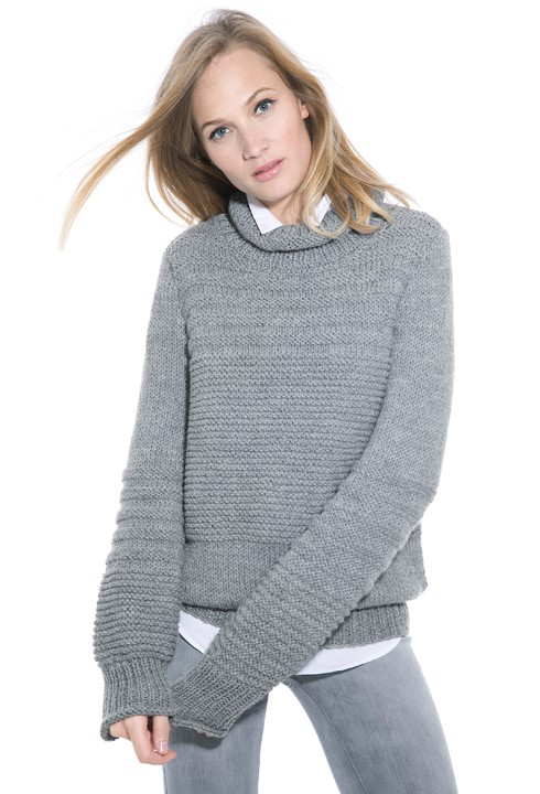 modele pull femme tricot gratuit
