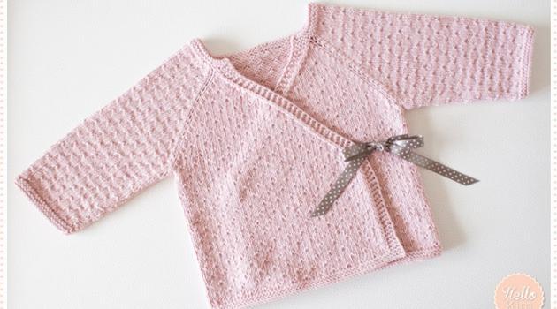 patron gratuit layette bebe tricot