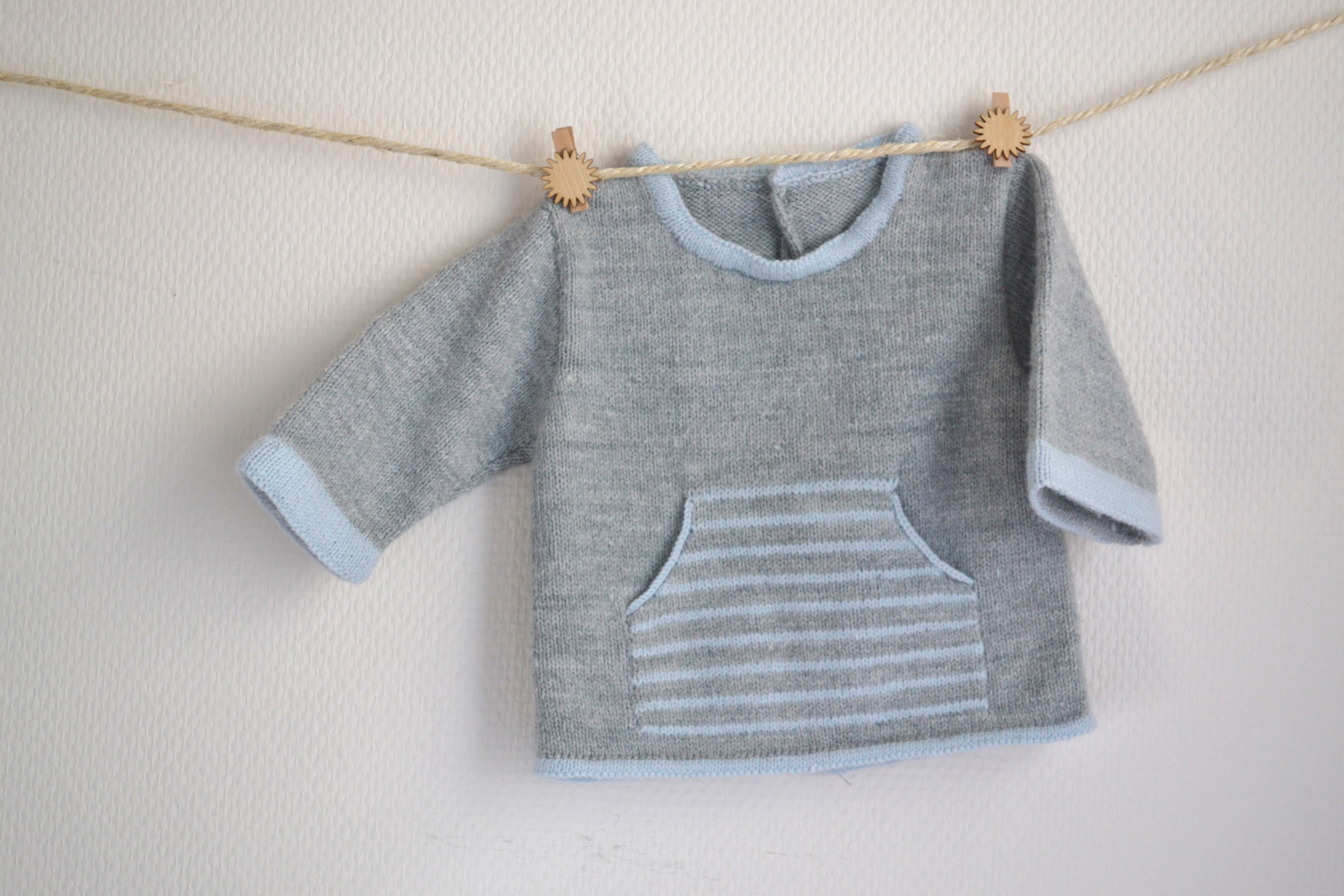 modele layette tricot bebe
