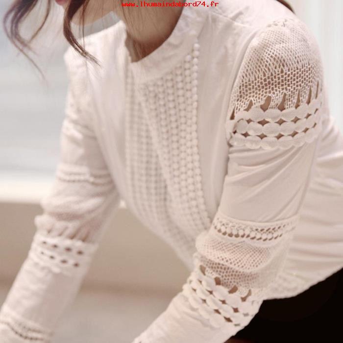 chemise femme 2017 dentelle chapka doudoune pull vetement d 39 hiver. Black Bedroom Furniture Sets. Home Design Ideas