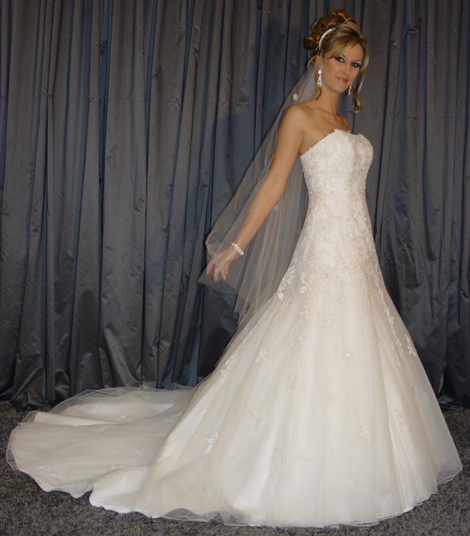 Location de robe blanche