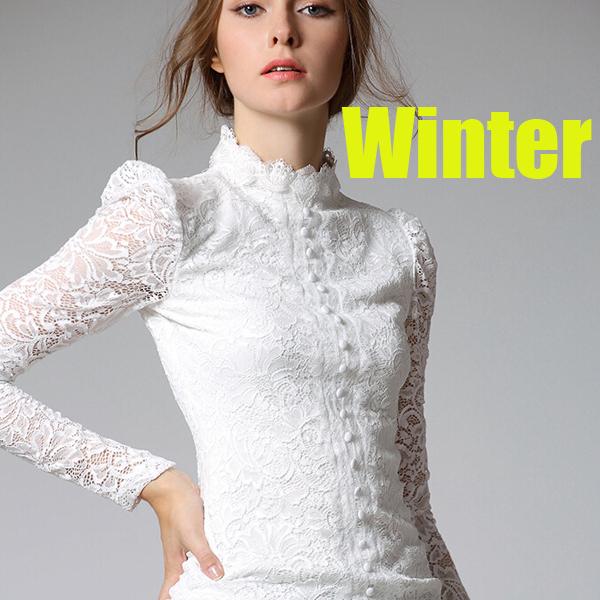 Extrêmement Chemisier dentelle blanc - Chapka, doudoune, pull & Vetement d'hiver YZ31