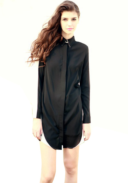 Longue Chemise FemmeGetupandgo Chemise Noir Chemise Longue Noir FemmeGetupandgo Longue Noir Longue FemmeGetupandgo Chemise Noir N8vm0wOn
