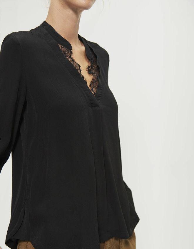 Blouse fluide noire - Idée pour s habiller 40686ca6b69c