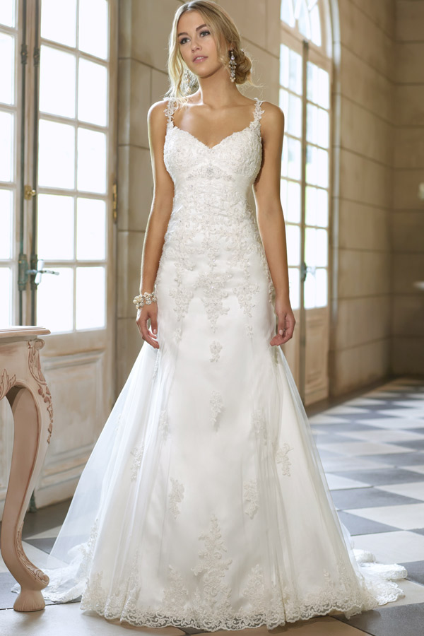 robe de mari e avec bretelle pas cher