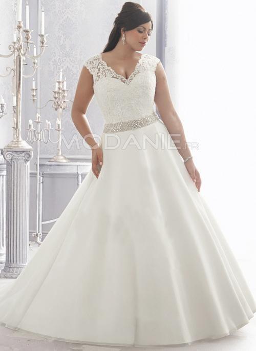 robe de mariee taille xl