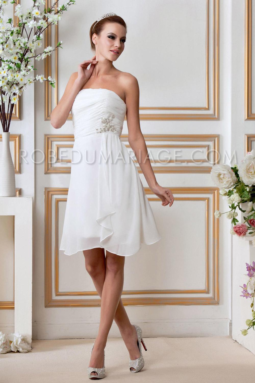 Robe longue mariage civil fashion designs for Robes pour mariage civil
