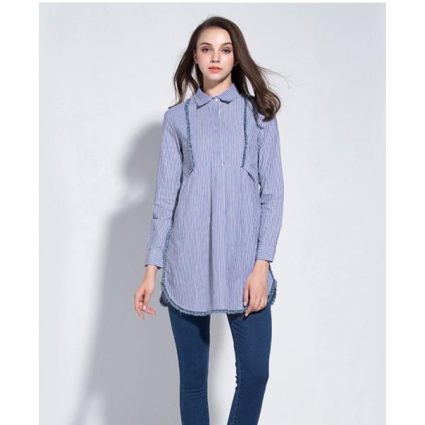 Tunique chemise longue femme   Getupandgo ef1417b056a7