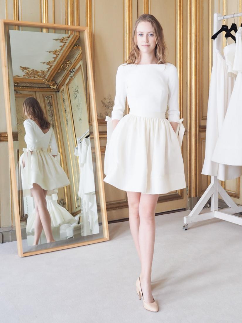 Comment porter une robe manches courtes en hiver