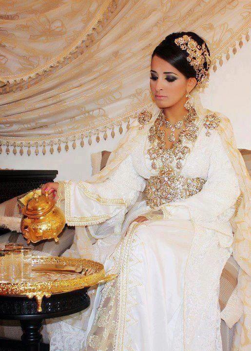 Belle robe de mariee orientale