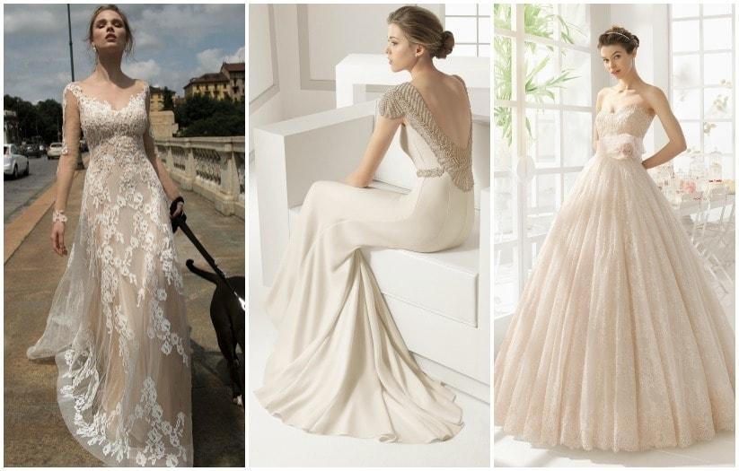 Robe de soiree blanche ou ivoire