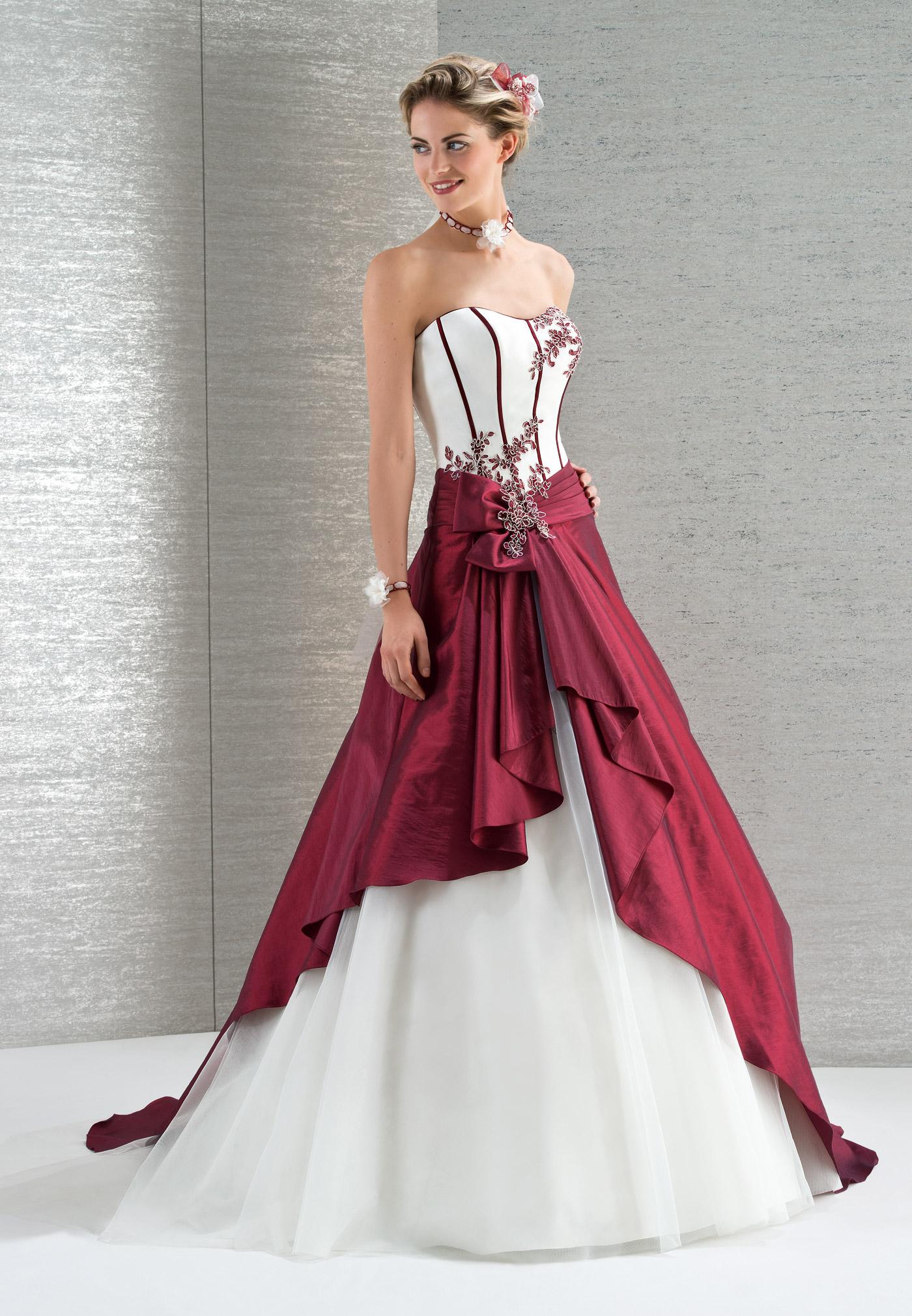 robe de mariee a bordeaux