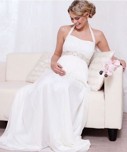 Jolie robe de soiree pour femme enceinte