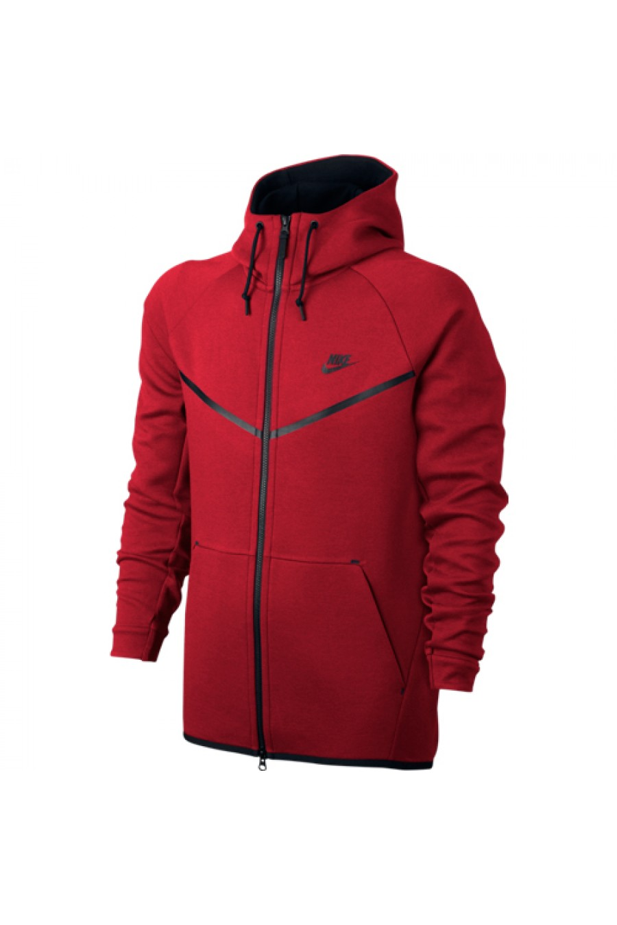 Veste rouge homme adidas