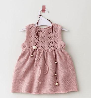 tricoter robe bebe