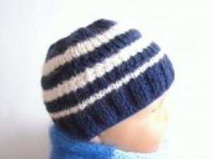 Tricot bonnet bébé 18 mois