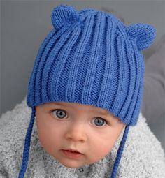 Je veux trouver un joli tricot pour mon bébé ou à offrir pas cher ICI Tricot  bonnet bébé avec oreilles patron 757e827acd4
