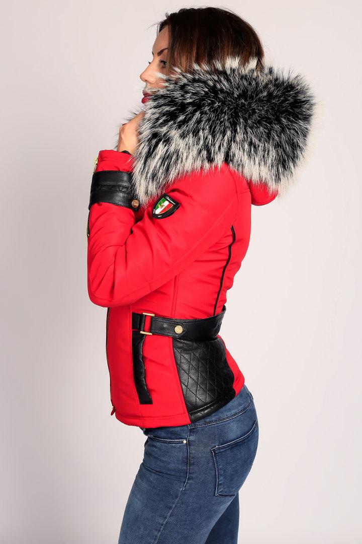 b49cd99bb933 Fourrure Rouge D amp  Doudoune Vetement Chapka Femme Pull Doudoune xwxanWT