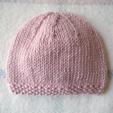 52be38783eb Tricot bonnet bébé naissance gratuit - Chapka