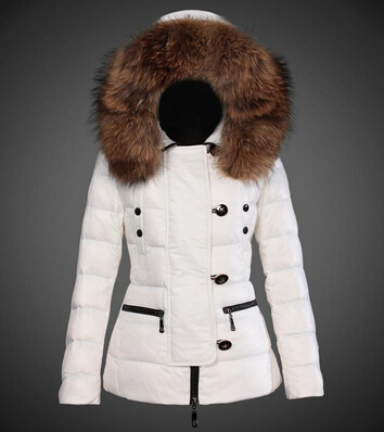 d64732ef3c2 Je veux trouver une doudoune de marque femme qui tient chaud pas cher ICI Doudoune  femme blanche avec fourrure