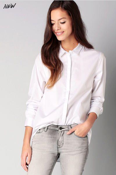 Je veux trouver une belle chemise femme et agréable à porter pas cher ICI  Chemise femme 2017 blanche 4fe52ebac006