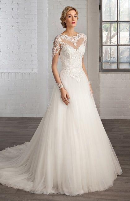 9c296285fe5 Model de robe de mariee - Chapka