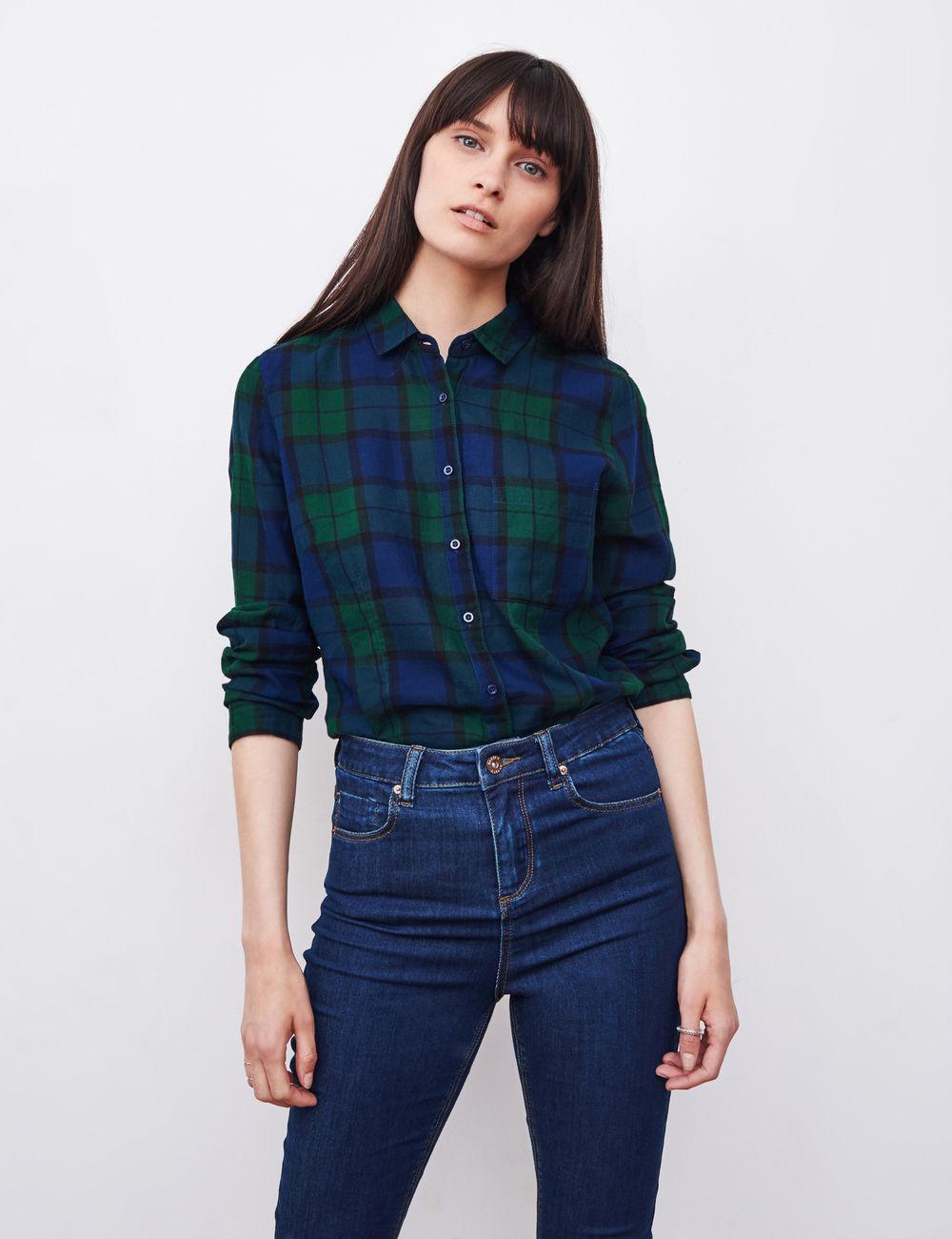 Je veux trouver une belle chemise femme et agréable à porter pas cher ICI  Chemise 0 carreaux femme 6f574c2c2337