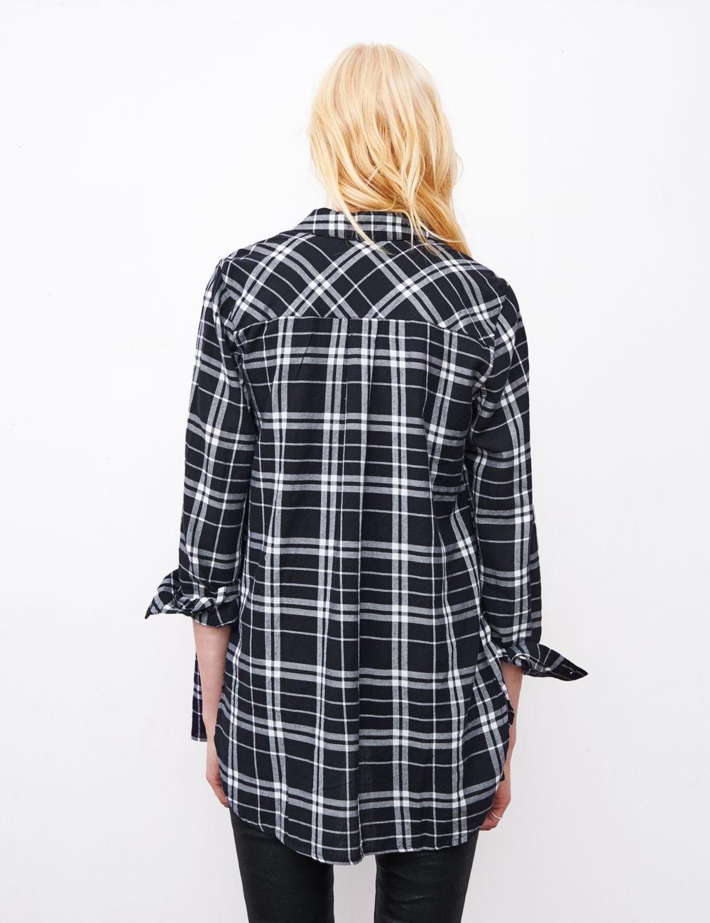 Chemise femme longue carreaux - Chapka, doudoune, pull   Vetement d ... d4c9169ae5d