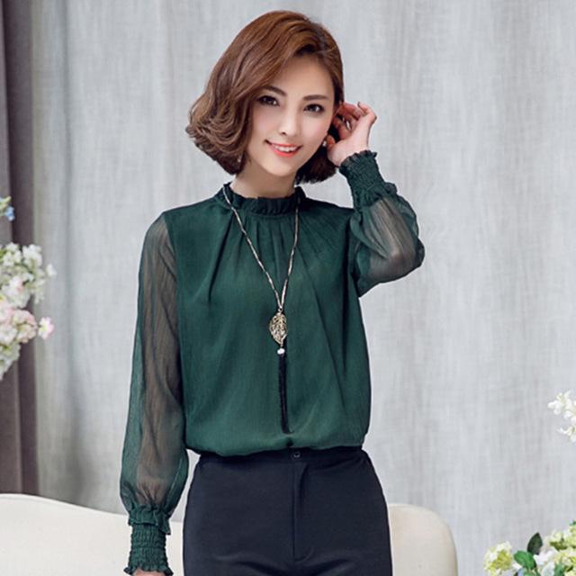 e0a3c8e49b86 Je veux trouver une belle chemise femme et agréable à porter pas cher ICI  Blouse soie femme