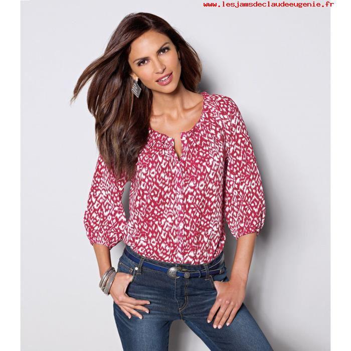 1678857a44965 Je veux trouver une belle chemise femme et agréable à porter pas cher ICI  Chemisier et blouse