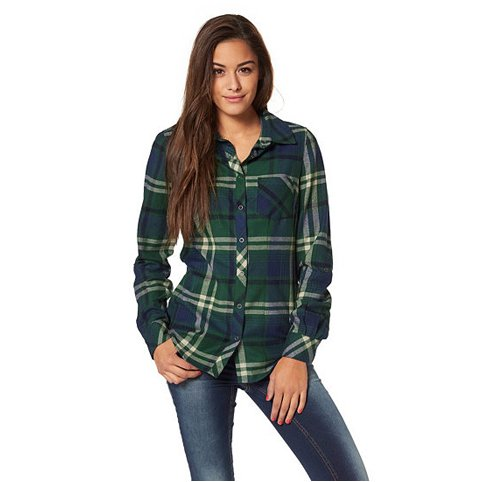 Je veux trouver une belle chemise femme et agréable à porter pas cher ICI Chemise  carreaux vert femme f54d352c1ed8
