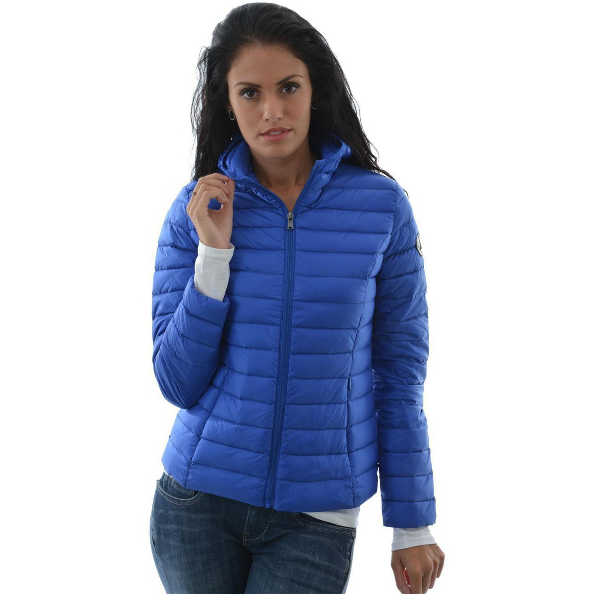168e33cf782d Doudoune jott femme bleu fourrure - Chapka