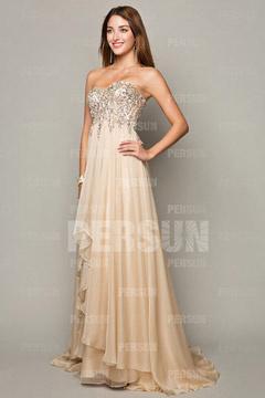 025477c6186 Je veux trouver une belle robe de soirée coloré ou élégante pas cher ICI  Robe de soirée mariage