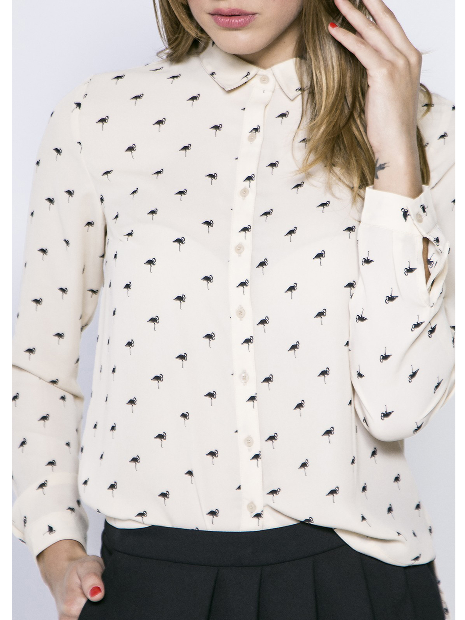 Je veux trouver une belle chemise femme et agréable à porter pas cher ICI  Chemise imprimée femme 62def5fda540